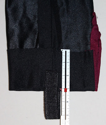 TNG season 2 admiral uniform - trousers hem allowance