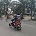 Kpt Inf T Marpaung Bersama Kasat Bimas Polres Tebo Pimpin Operasi Yustisi