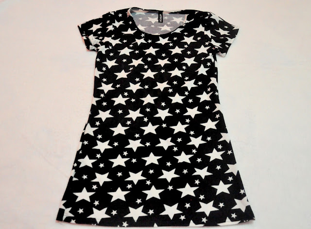 Stylish Scoop Short Sleeves Dress $6.00