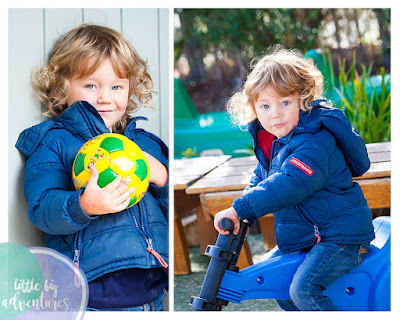 boy at kindergarten, daycare, boy holding a ball, kinder photography
