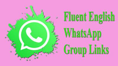 Fluent English WhatsApp Group Links