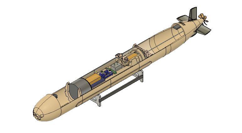 1:120 Spanish S-80 submarine Capture4