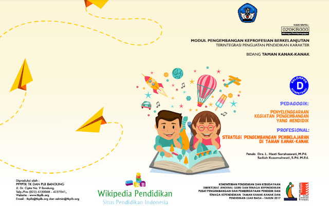 Modul PKB Guru PAUD TK Kompetensi D Pedagogik dan Profesional 2017