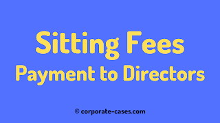 payment of sitting fees to directors as per companies act 2013
