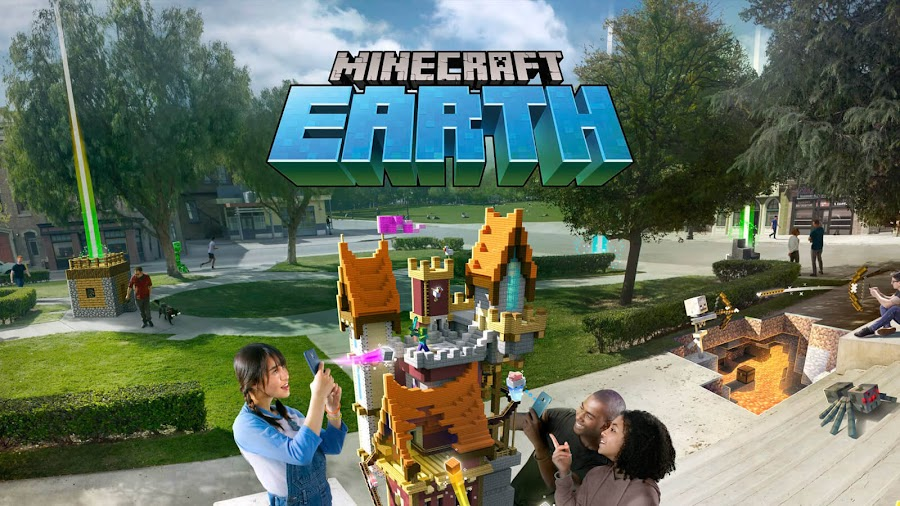 minecraft earth mobile ios android mojang augmented reality