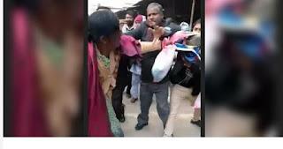शर्मनाक : कचहरी में अधिवक्ताओं ने एक महिला को जूतों से पीटा, वीडियो वायरल
