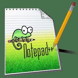 تعديل الاكواد البرمجية ، Notpad++ Pc