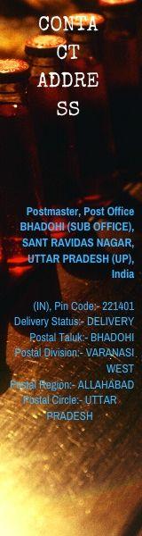 BHADOHI, SANT RAVIDAS NAGAR, UTTAR PRADESH ...-Pin Code