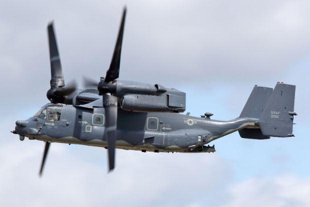 Bell Boeing V-22 Osprey specs