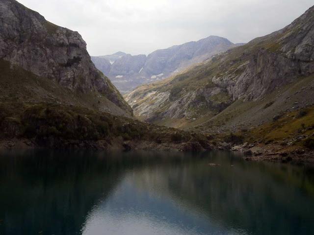 Monte Perdido desde Barrage de Gloriettes