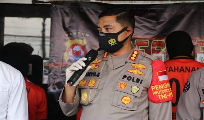 Polresta Tangerang Ringkus Sindikat Pencuri Mobil, Satu Tersangka Miliki 2 Senjata dan Puluhan Amunisi
