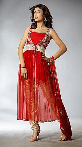 Indian Anarkali Churidar Design Ideas for Girls Stylish Layered Anarkali