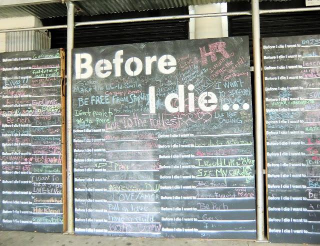 Harlem New York City - mur des souhaits de la Firth Corinthian Batisp Church