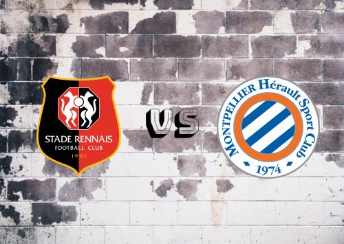 Rennes vs Montpellier  Resumen