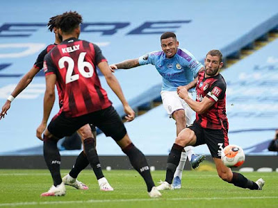 Video Man City 2–1 Bournemouth: Nỗ lực tột cùng, kết thúc nuối tiếc