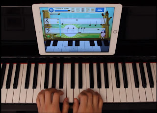 Piano Maestro on Kawai piano