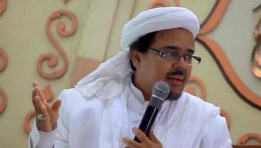 Polisi Selidiki Dugaan Makar Rizieq Shihab