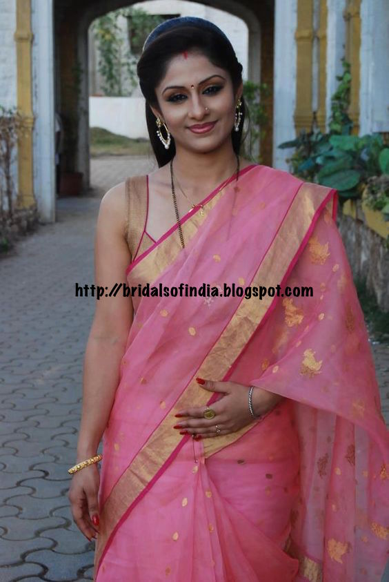 Fashion world: Ethereal pink cotton silk handloom saree