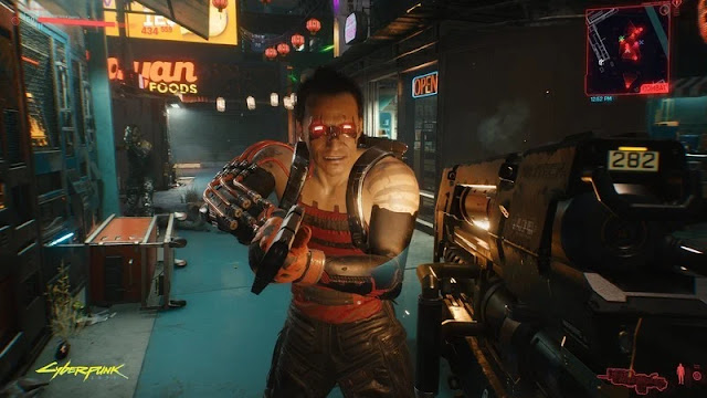Screenshoot Gameplay Cyberpunk 2077 PC