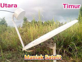 arah satelit indovision ses7