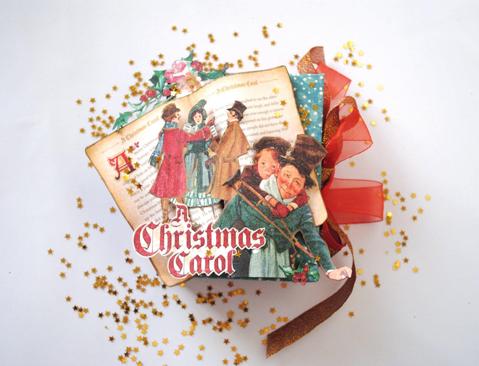 Minialbum de Navidad muy mágico por Scrapamundi