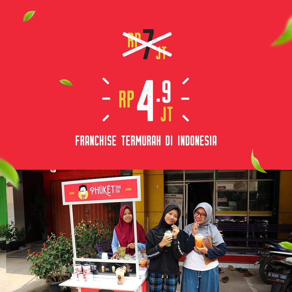 Kuy Join Franchise Bersama Phuket Thai Tea ( Franchise Termurah Di Indonesia )