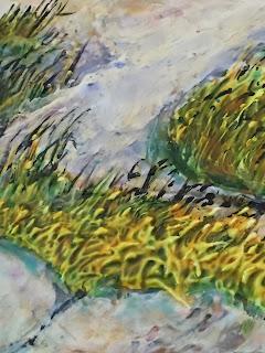 copyright Robin Baratta, Through The Dunes, detail