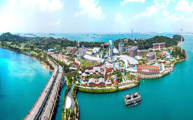 جزيرة سنتوسا -  سنغافورة