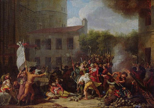 Картина: штурм Бастилии