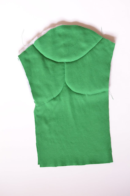 How to Sew Muscles in a costume - sleeve detail