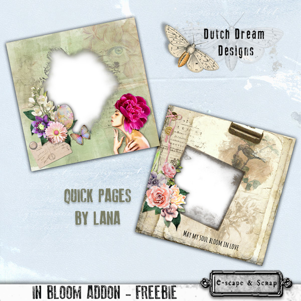 FREEbie QUICK PAGES by DUTCH DREAM DESIGNS