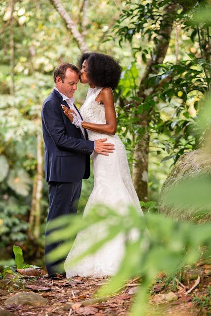 guadeloupe mariés à la rivière Corossol