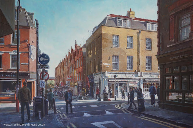 east end street truman painting Martin Davey