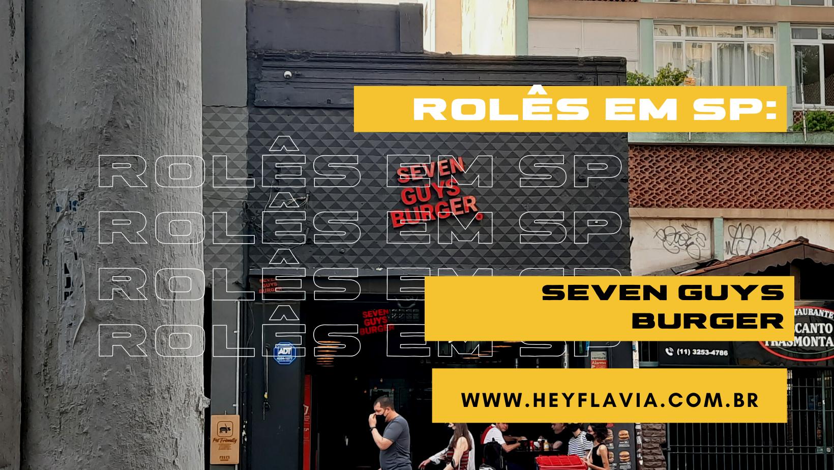 Seven guys burger na augusta