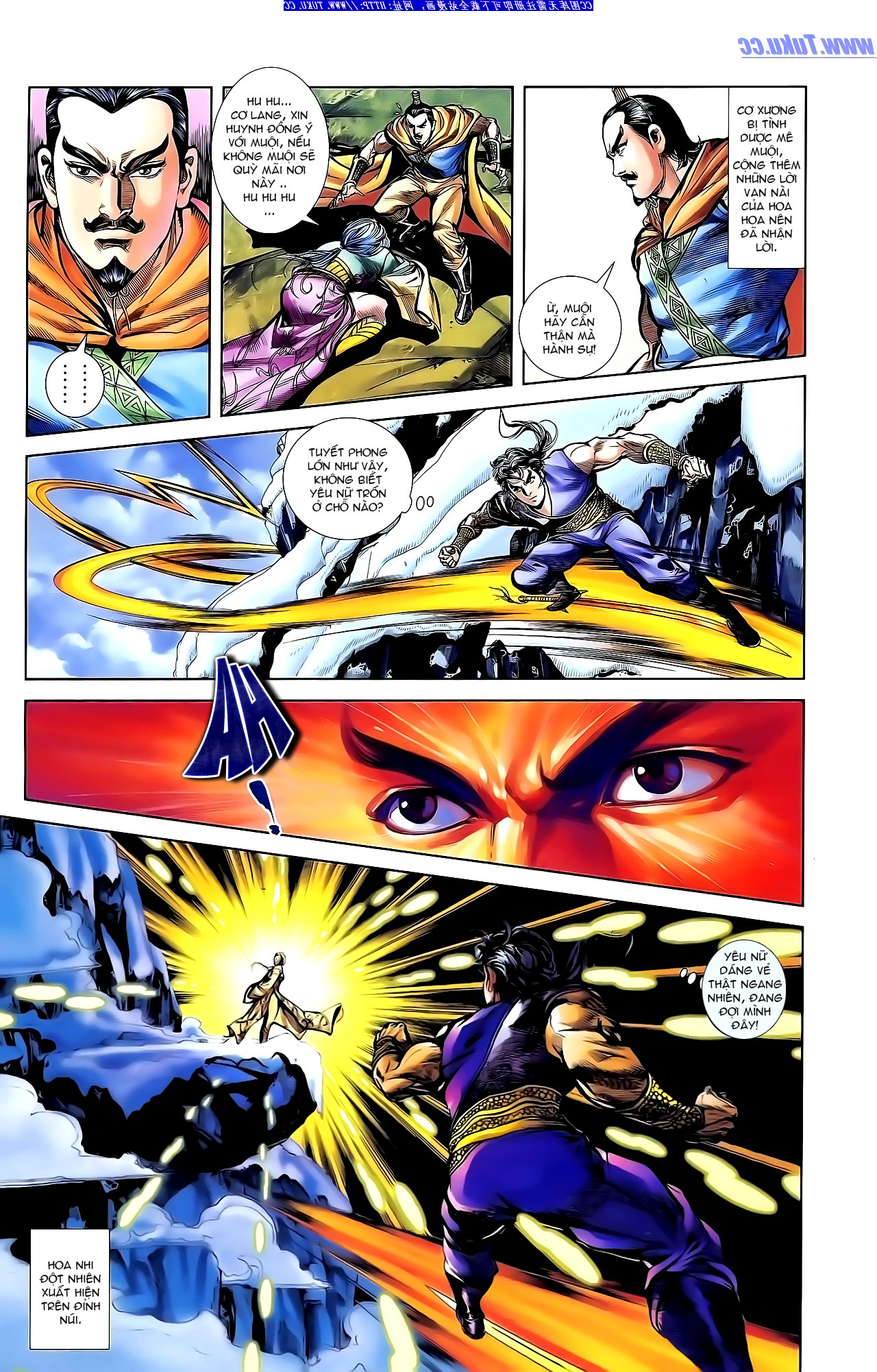 Cơ Phát Khai Chu Bản chapter 143 trang 6