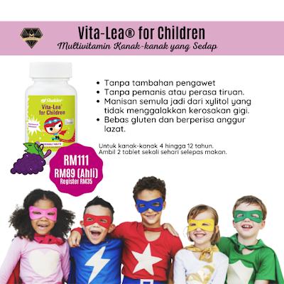 Product Info: Vita-Lea® for Children