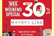Promo Jsm Watsons Weekend Special (WES) Periode 27 Februari - 1 Maret 2020