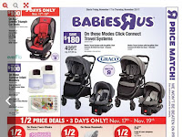 Babies R Us Flyer Baby Shower Gift Ideas valid November 17 - 23, 2017