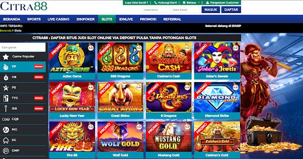 Citra88 Adalah Situs Daftar Judi Online Yang Menyediakan Pelayanan Deposit Pulsa Tanpa Potongan 2020. Mamiliki Banyak jenis permainan judi online seperti, IDN Poker, Casino online, Judi Bola 88, Domino QQ, Slot Online. Minimal Deposit Pulsa Tanpa Potongan Yaitu Rp 20.000. Selain itu Citra88 merupakan Agen IDN Poker Domino QQ Terbaik Di Indonesia Dengan permainan kartu terlengkap. Untuk Dapat Login Ke Situs Citra88, Kami telah menyediakan link Alternatif yang dapat anda gunakan sebagai alternatif Pembuatan akun dan login yang telah kami sediakan di bawah ini :