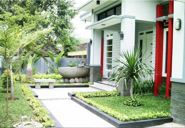 Koleksi Teras Rumah Dengan Batu Alam