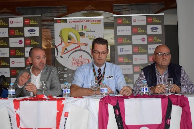Listado oficial de corredores de la XXXI edición de la Vuelta Ciclista Internacional a la Comunidad de Madrid