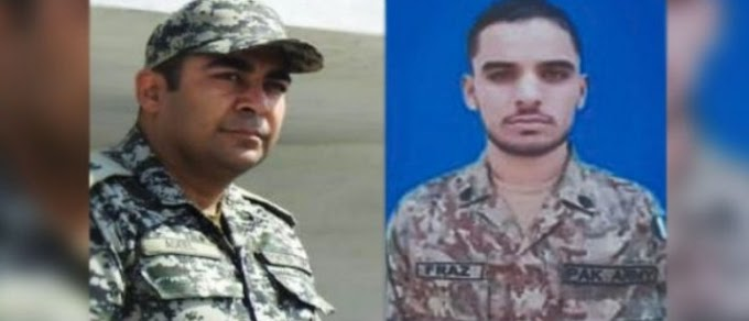 Two dead in the landmine explosion in the army, General Pervez