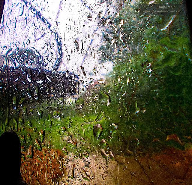 rain photography, rain on window