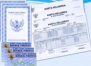 Kartu Keluarga (KK) dan Kartu Tanda Penduduk (KTP) adalah merupakan dokumen kependudukan yang sangat penting dan menjadi dokumen utama dalam pelayanan masyarakat di berbagai bidang