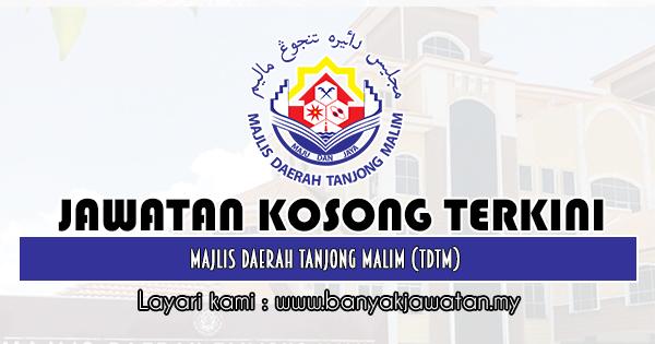 Jawatan Kosong Terkini 2019 di Majlis Daerah Tanjong Malim (TDTM)