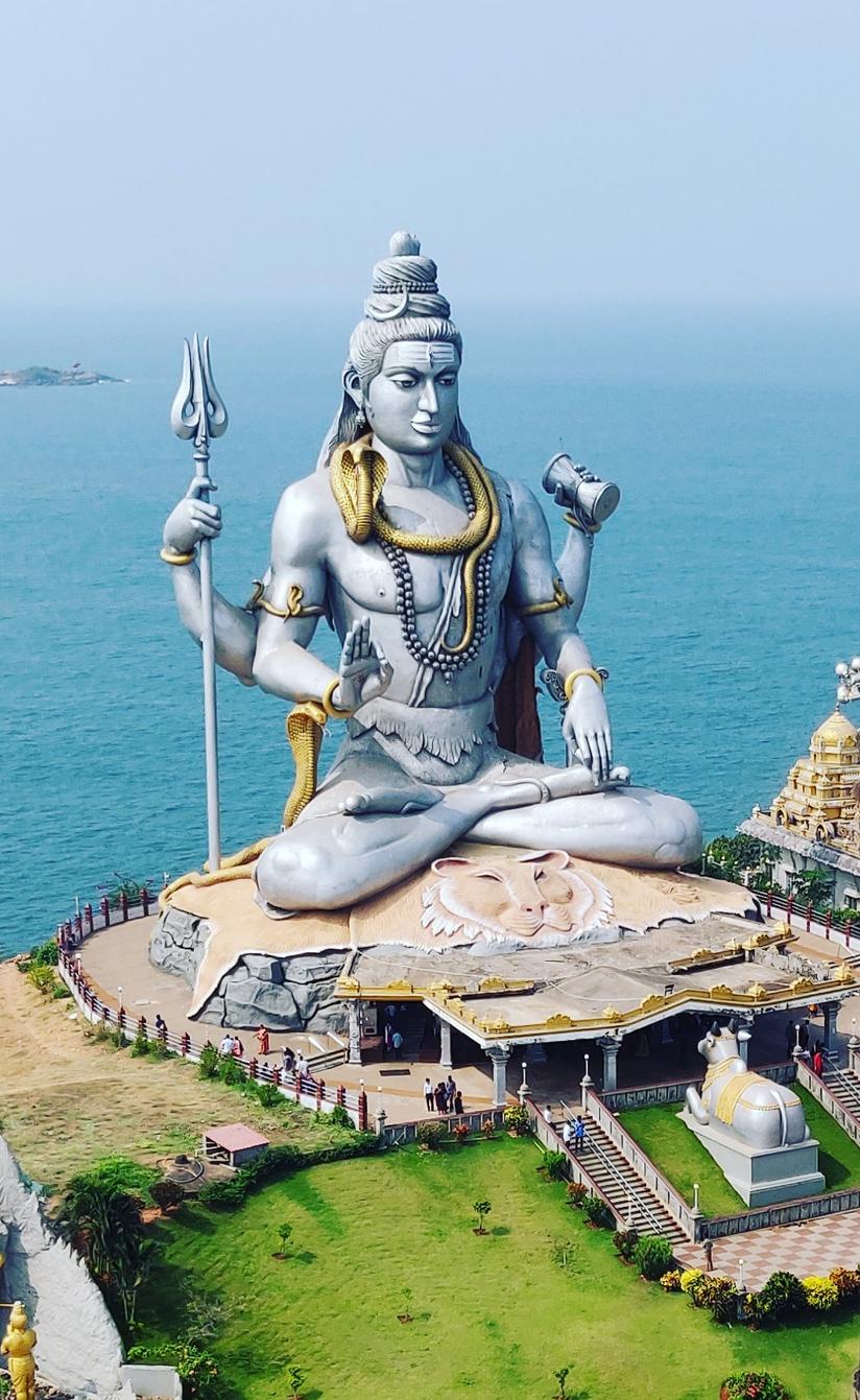 Lord Shiva Statue Mobile wallpaper
