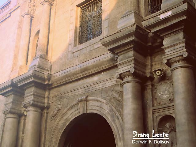 San Agustin Church history
