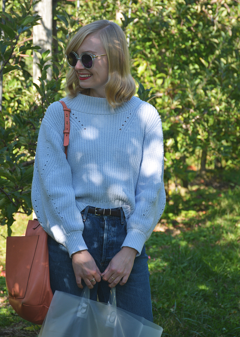 Sweater Weather for Apple Picking | Organized Mess