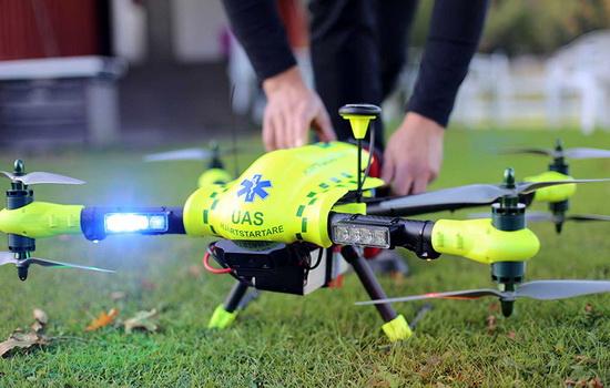 KeSimpulan.com Ambulans Drone FlyPulse Kirim Defibrilator Atasi Serangan Jantung