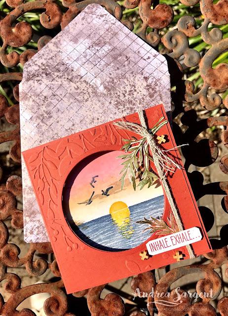 Sending Sunshine Stampin Up card, Andrea Sargent, Independent Stampin' Up Demonstrator, South Australia